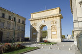 Triumphal arch, Montpellier, France — Stock Photo