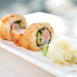Crab maki — Stock Photo