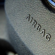Airbag symbol - Stock Photo