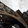 Eiffel tower at wide angle. — Stock Photo #7447930