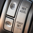 Cruise control buttons - Stock Photo