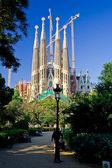 Sagrada Familia cathedral in Barcelona, Spain — Stock Photo