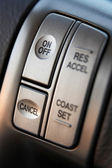 Cruise control buttons — Stock Photo