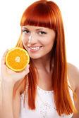 Oranje wilt? — Stockfoto