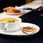 Squash soup — Stock Photo