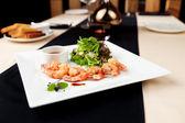 Tempura shrimps — Stock Photo