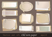 Old paper — Vector de stock