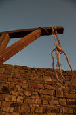 Execution by the rope — Stock Photo