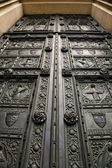 Antique wooden door — Foto Stock