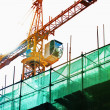 Stock Photo: Crane construction