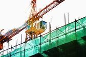 Grúa de construcción — Foto de Stock
