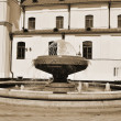Royalty-Free Stock Photo: Fountain. Sepia