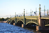 Trinity Bridge in St.Petersburg — Foto de Stock