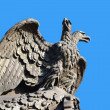 Sculpture of double-headed eagle — Stock Photo