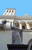 Igreja luterana de saint piter em são petersburgo — Foto Stock