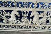Bas-relief on a Blagoveshchensky Bridge — Stock Photo
