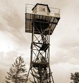 Tower. Sepia. — Stock Photo