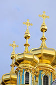 Golden Cupolas — Stock Photo