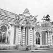 Stock Photo: Grotto pavilion in Tsarskoe Selo . Black and white.