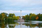 Jezioro w parku ekaterinensky — Zdjęcie stockowe