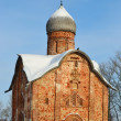 Old church in Veliky Novgorod. — Stock Photo