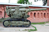 Dělostřelecká zbraň — Stock fotografie