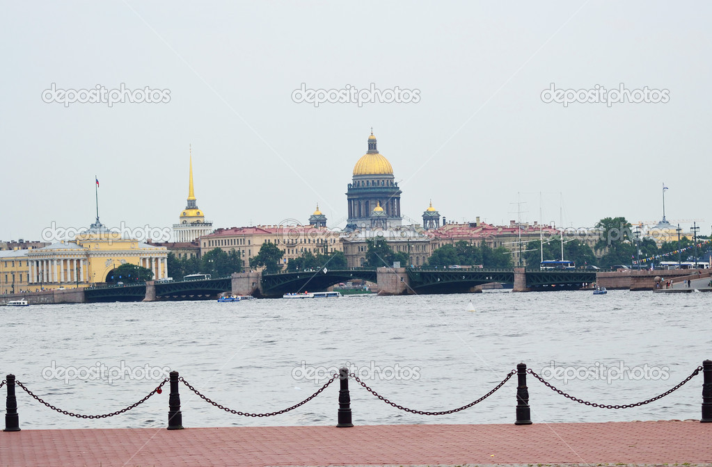 View of the central part of St. Petersburg, Russia. — Stock Photo #7114983