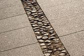Granite pavement — Stock Photo