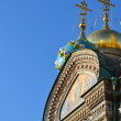 Domes of Church of the Savior on Blood — Stock Photo #7153015