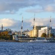 Stock Photo: View of the St.Petersburg.