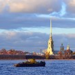 Ship in Saint Petersburg — Stock Photo #7153215