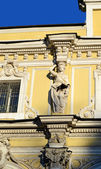 The facade of the palace in St. Petersburg — Stock Photo