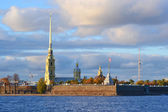 The Peter and Paul Fortress, St. Petersburg. — Stock Photo