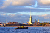 Ship in Saint Petersburg — Stock Photo