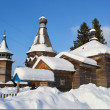 The old wooden church on the north of Russia. - Stock Photo
