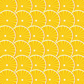 Vector background with oranges — Stock Vector