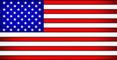 USA Flag — Vettoriale Stock