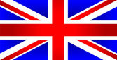 United Kingdom of Great Britain flag — Vector de stock