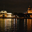 Night view of the St Petersburg — Stock Photo #7671789