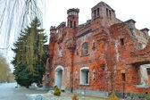 Kholmskiye gate in Brest Fortress — Stock Photo
