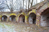 The ruins of the Eastern fort, Brest — Stock Photo