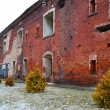 Stock Photo: Wall of Brest Fortress in Brest
