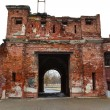 Stock Photo: Old destroyed gate in Brest Fortress
