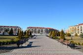 Centralny plac Pińsk — Zdjęcie stockowe