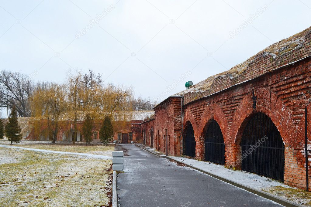 View of Memorial complex Brest Fortress in Brest, Belarus — Stock Photo #7741414