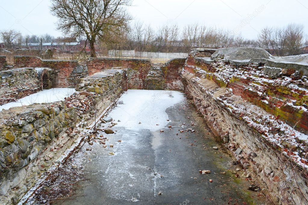 The ruins of the Brest Fortress, Belarus — Stock Photo #7741677