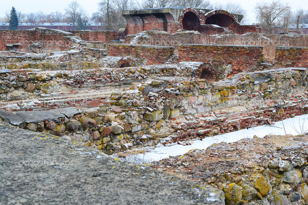 The ruins of the Brest Fortress, Belarus — Stock Photo #7741689