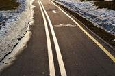 Bicycle lane — ストック写真