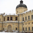 The Gatchina palace at winter - Stockfoto