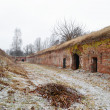 The ruins of the Eastern fort, Brest — ストック写真